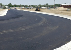 fairgrounds plaza road new surfacing