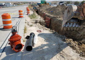 Waterline replacement materials and equipment