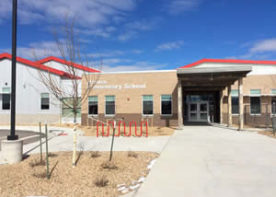 outside front left of hanna elementary school after civil engineering & surveying