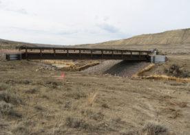 pre-fabricated bridge design and installation complete