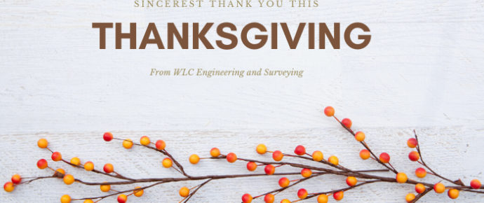 Sincerest Thank You to Our Clients, Employees & Partners this Thanksgiving