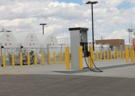 airport fuel farm gas pump