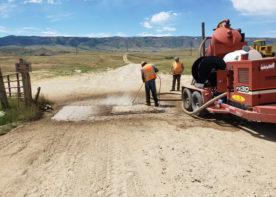 zone 2 waterline improvements construction