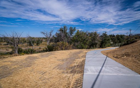 Morad Park Ribbon Cutting Held to Open New Section of Pathway